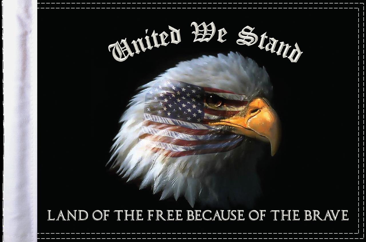 FLG-UWS15  United We Stand flag 10x15