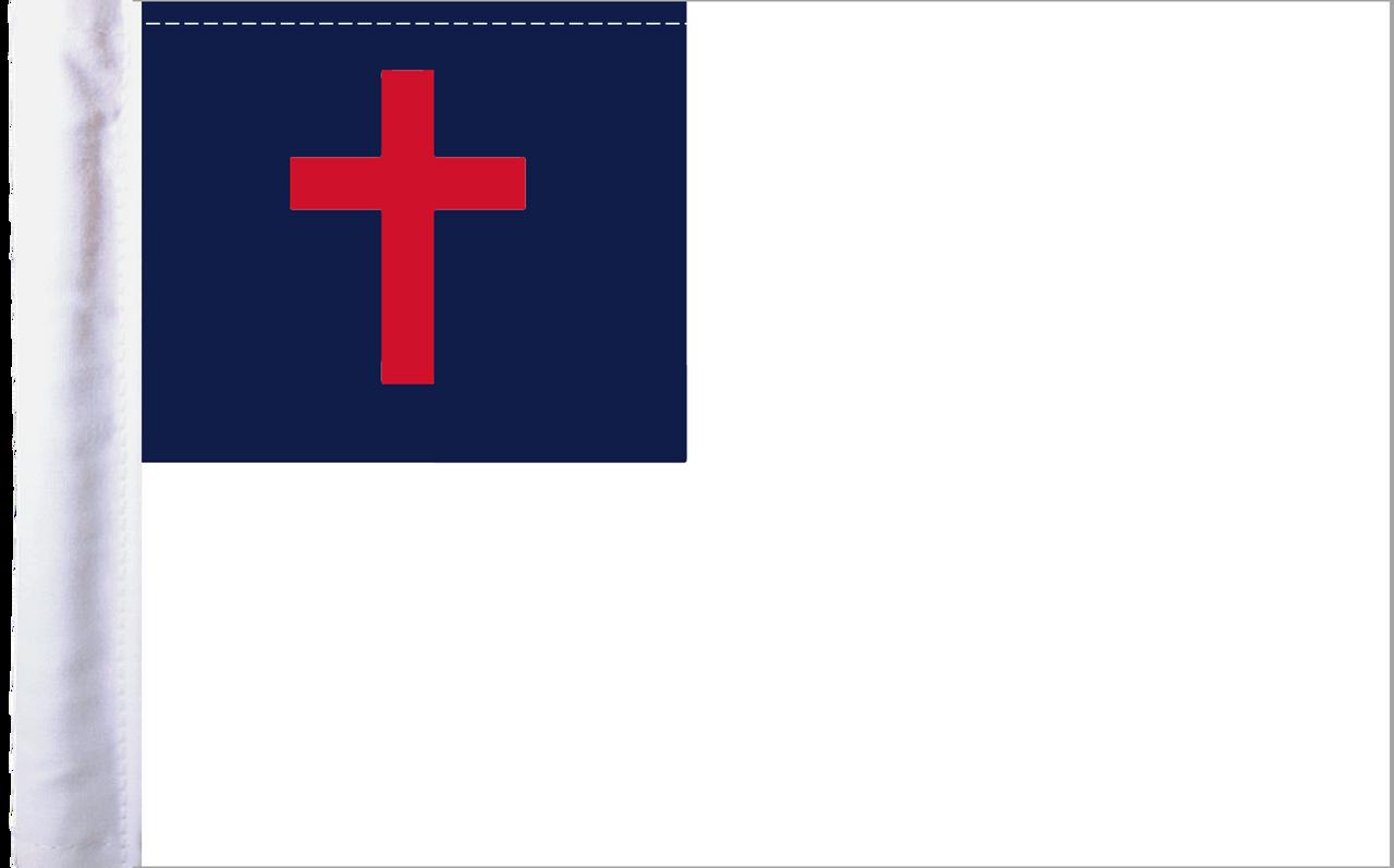 "6""x9"" Highway flag:  Christian"