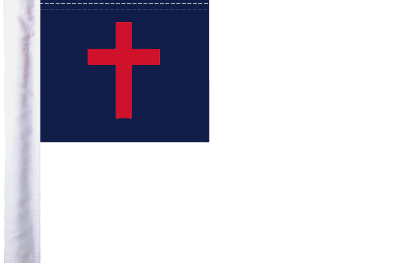 """10""""x15"""" Parade flag:  Christian"""