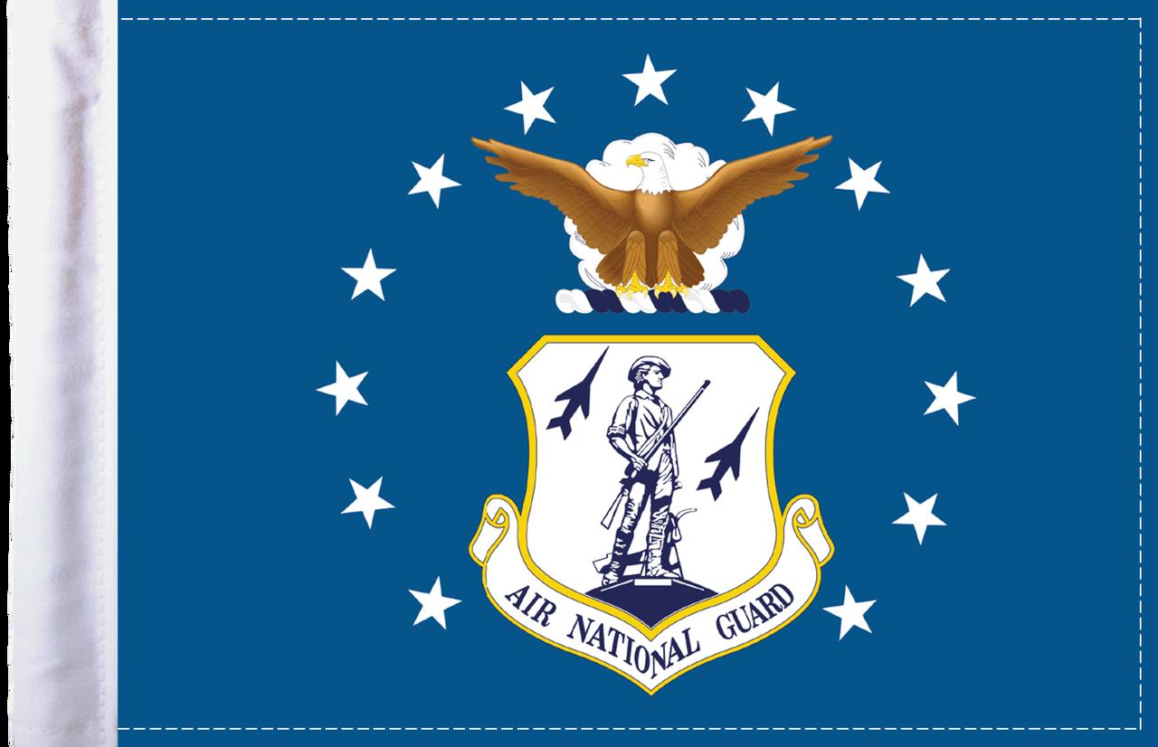 FLG-ARNTGD  Air National Guard 6x9 flag