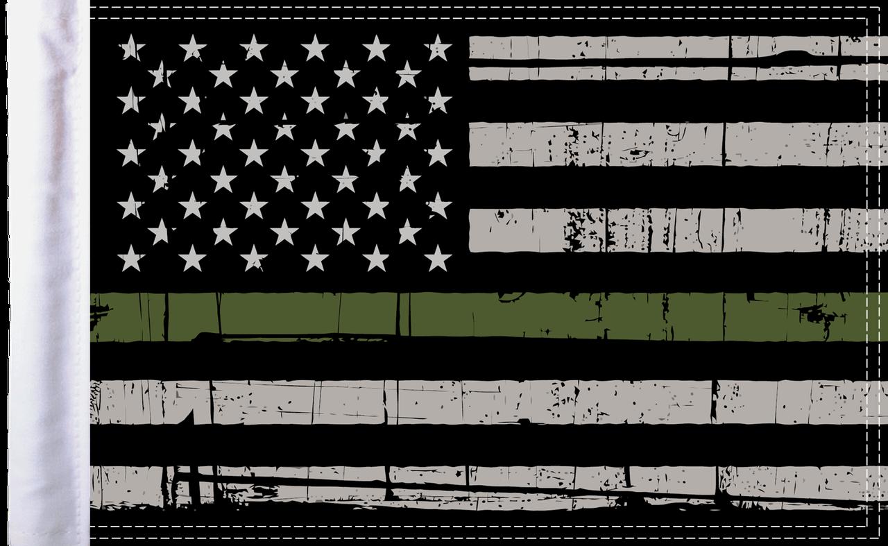 FLG-GMGL15  Grunge Military flag 10x15