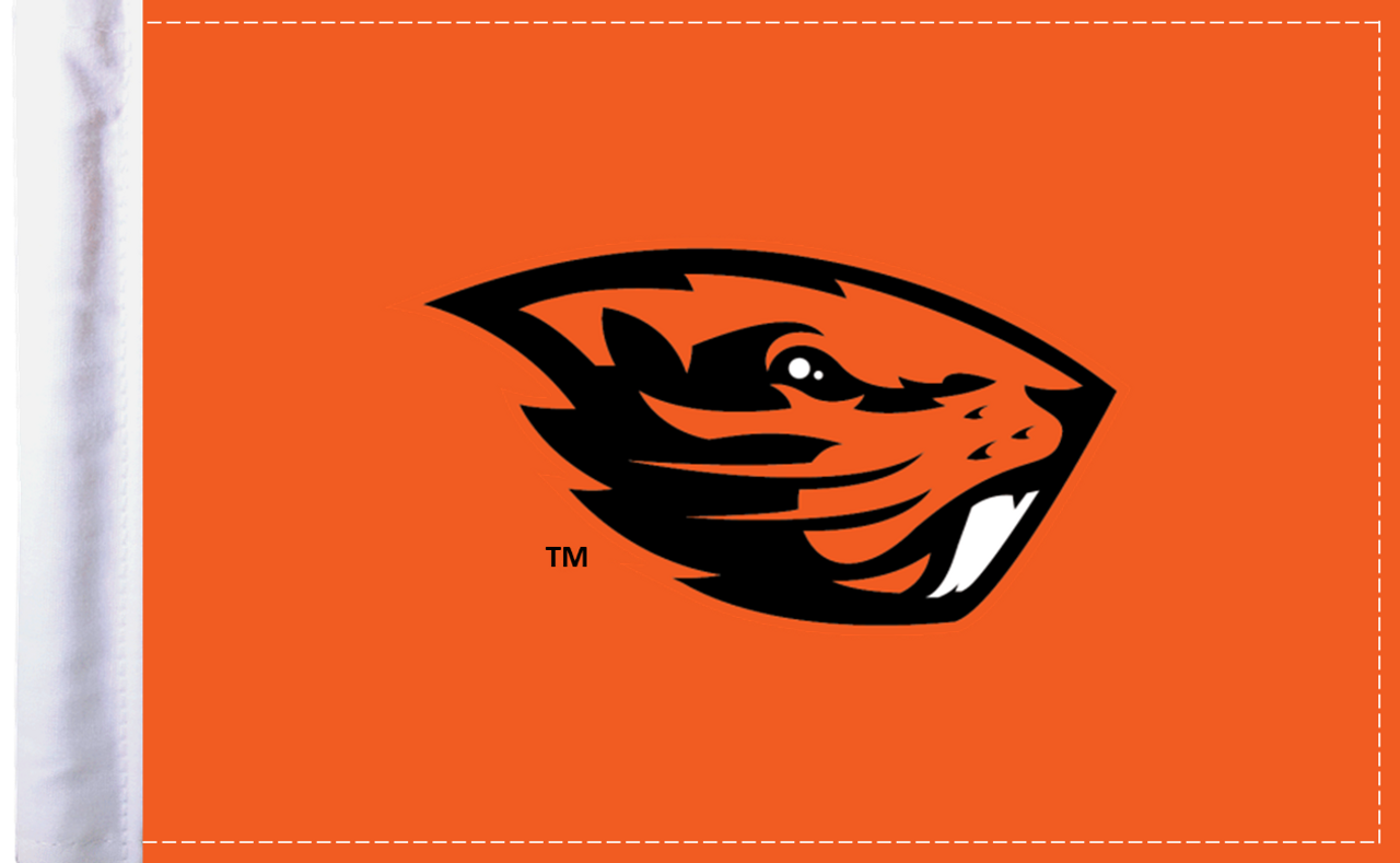 "Oregon State Beavers 6""x9"" Motorcycle Flag"