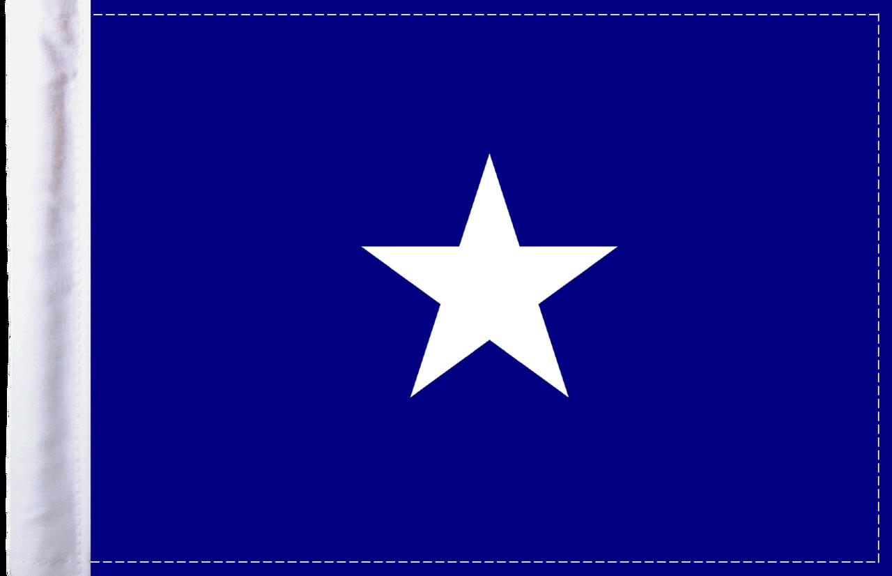 FLG-BONB  Bonnie Blue 6x9 Flag