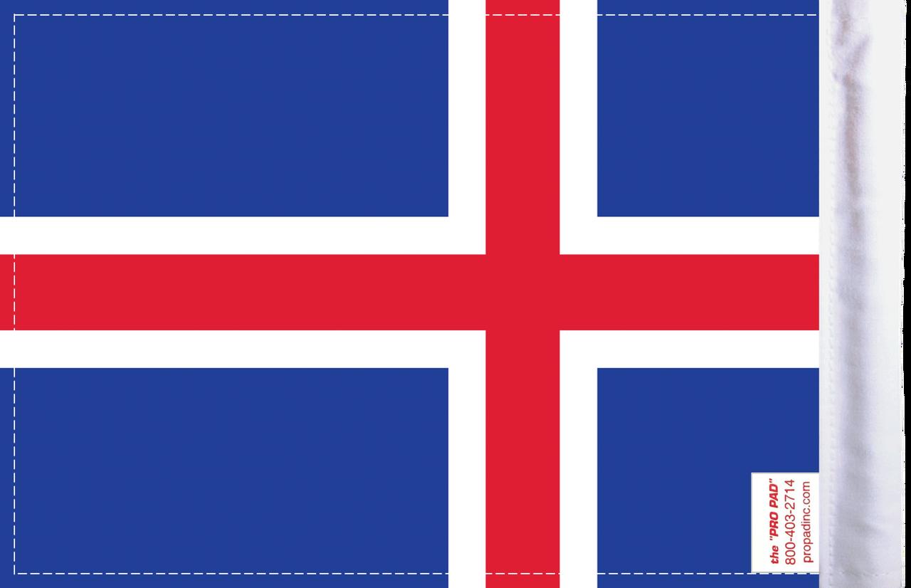 FLG-ICE  Iceland flag 6x9 (BACK)