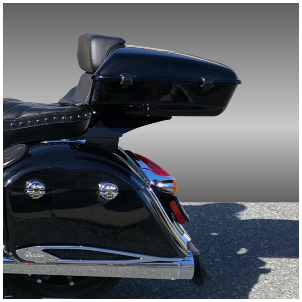 Slim Tour Pack System for 2014+ INDIAN Motorcycles