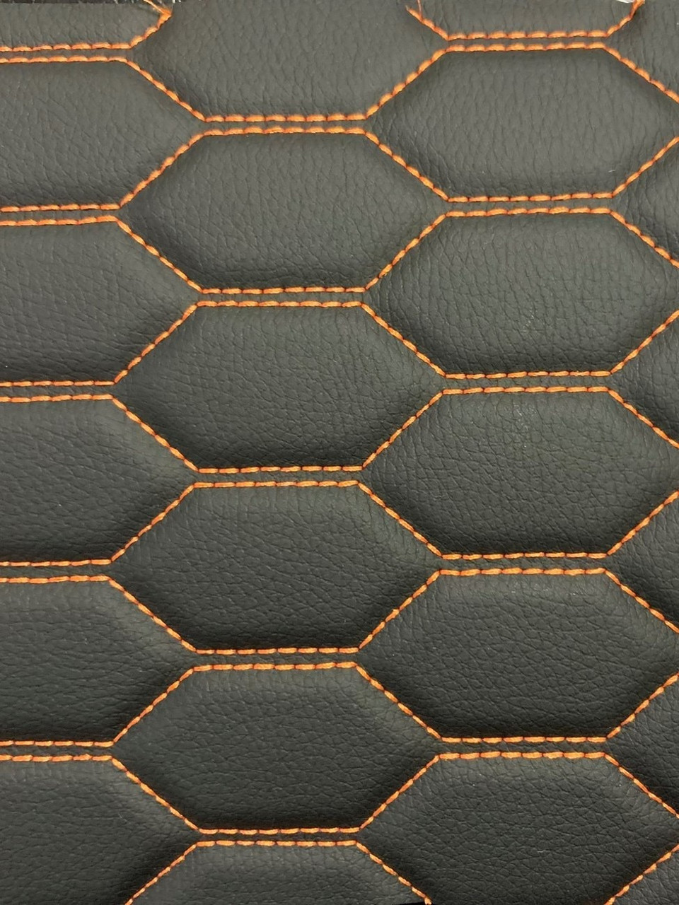 Liner - Black with Orange Thread