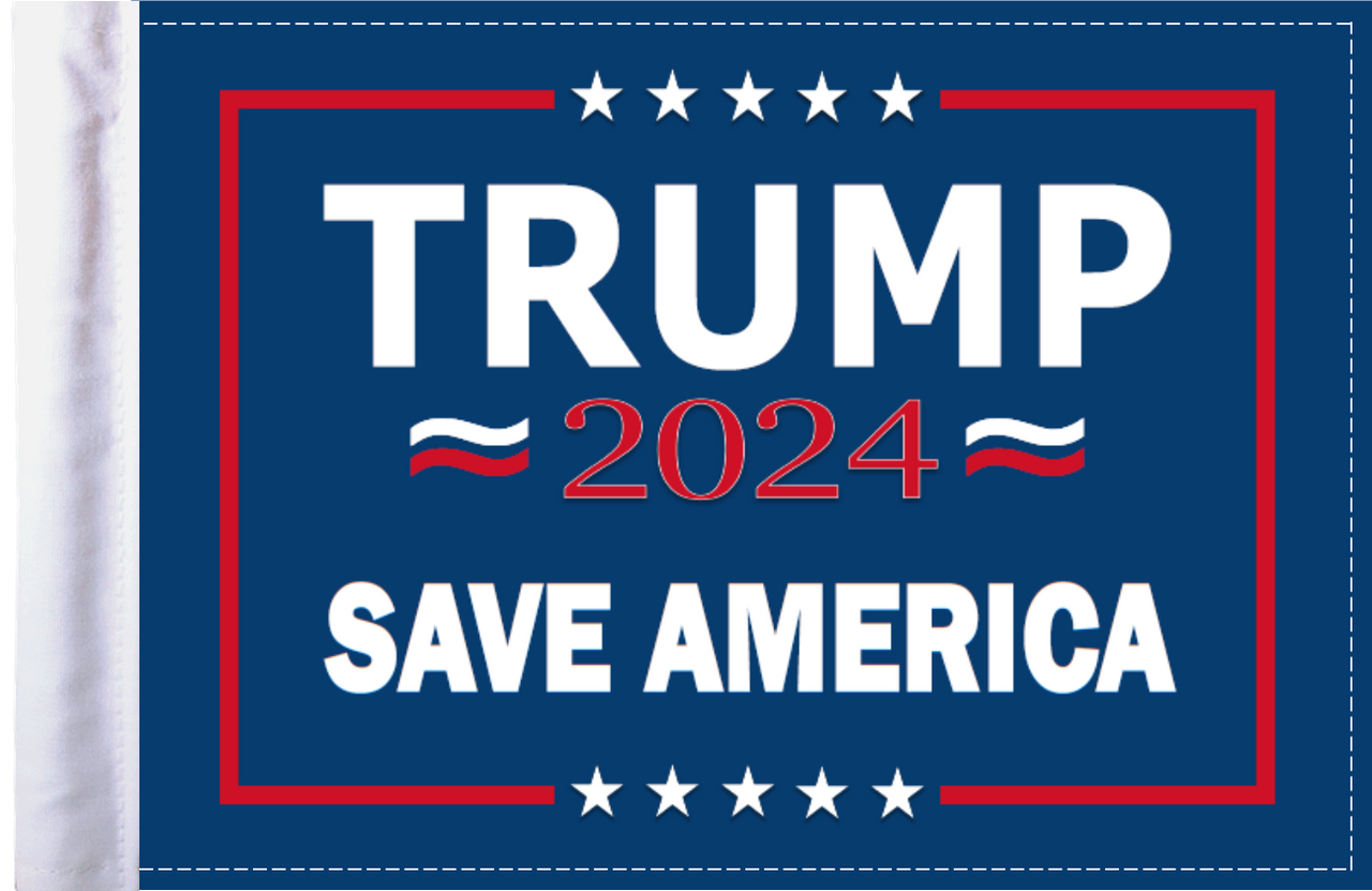 FLG-TRMPSA  Trump 2024 Save America flag 6x9