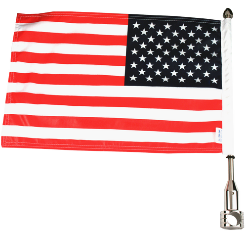 "#RFM-FXD215 (13"" pole and 10""x15"" flag)"