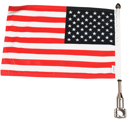 "#RFM-FXD215-SP (13"" pole and 10""x15"" flag)"