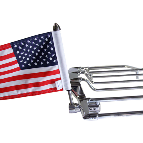 "#RFM-RDVM with 6""x9"" USA flag (shown on HD Air Wing rack)"