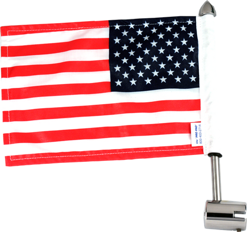 "#MSQ25 with 6""x9"" USA flag"