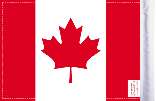 FLG-CAN Canada 6x9 flag (BACK)