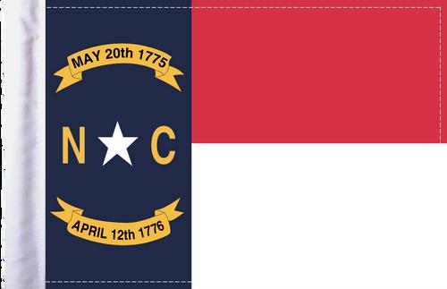 FLG-NC  North Carolina flag 6x9
