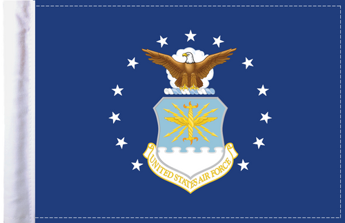 FLG-AF U.S. Air Force (seal) 6x9 Flag