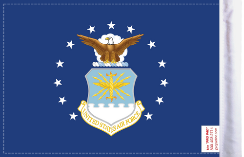 FLG-AF U.S. Air Force (seal) 6x9 Flag (BACK)