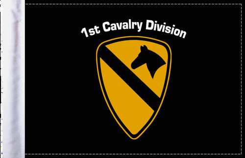 FLG-1CALV  1st Cavalry 6x9 flag
