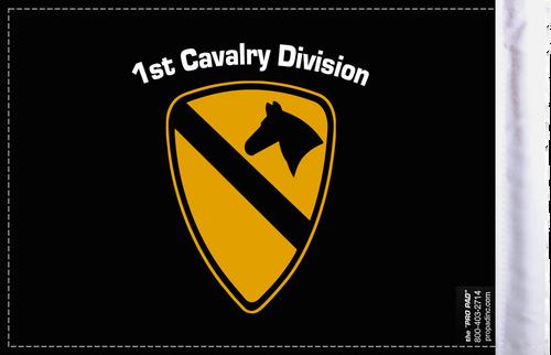 FLG-1CALV  1st Cavalry 6x9 flag (BACK)