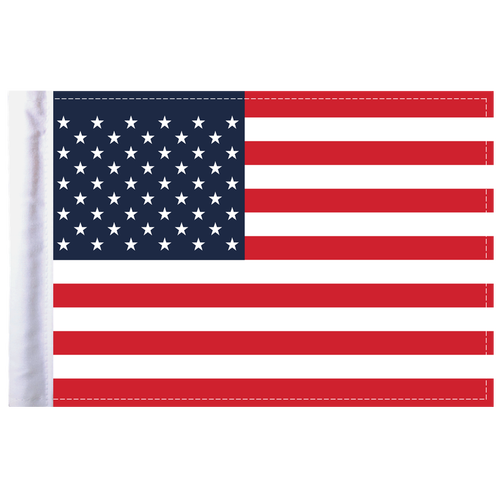"6""x9"" Highway Flag:  United States of America"