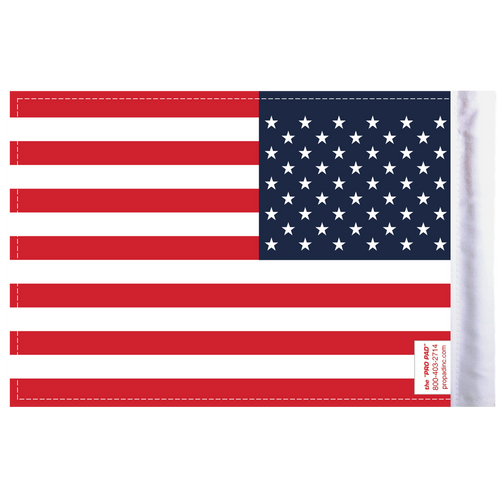 "6""x9"" Highway Flag:  United States of America (BACK)"