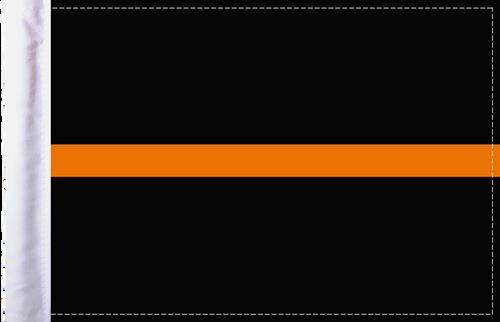 FLG-TOL-EMS   Thin Orange Line EMS 6x9 flag