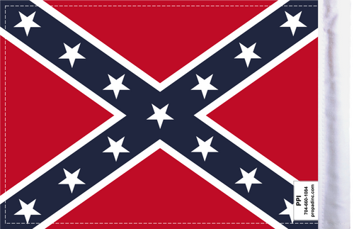 FLG-DIX Confederate Dixie 6x9 flag (BACK)