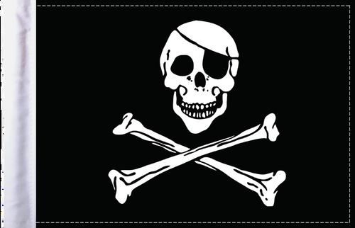 FLG-JR Jolly Roger flag 6x9