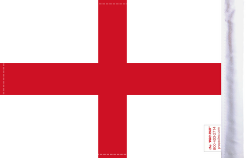 FLG-CSG England's Cross St George Flag 6x9 (BACK)