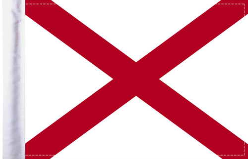 FLG-AL Alabama Flag 6x9