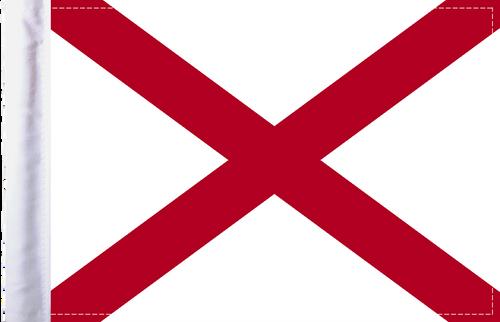 FLG-AL Alabama Flag 6x9