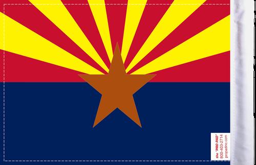 FLG-AZ Arizona Flag 6x9 (BACK)