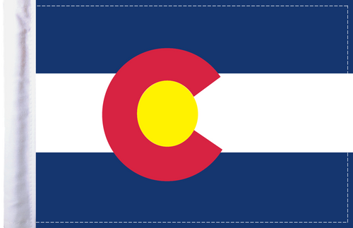FL-CO Colorado 6x9 flag
