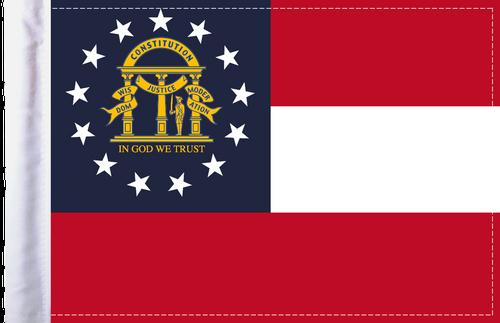 FLG-GA Georgia Flag 6x9