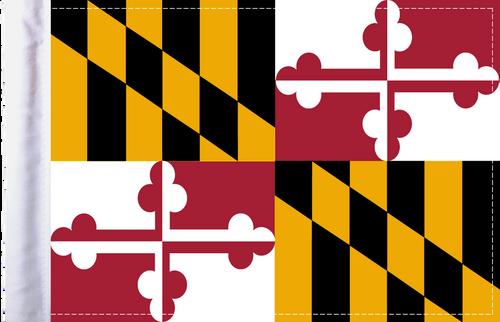 FLG-MD  Maryland Flag 6x9