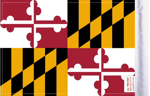 FLG-MD  Maryland Flag 6x9 (BACK)