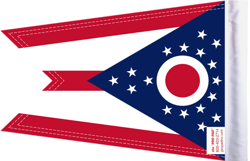 FLG-OH  Ohio flag 6x9 (BACK)