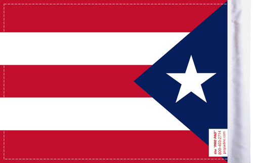 FLG-PR  Puerto Rico flag 6x9 (BACK)