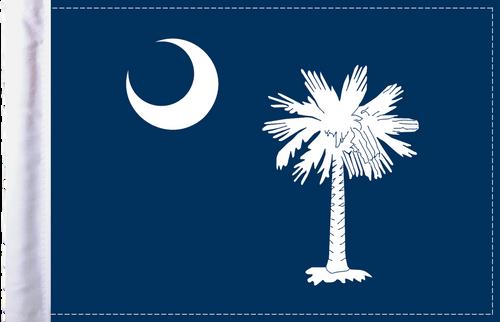 FLG-SC  South Carolina flag 6x9
