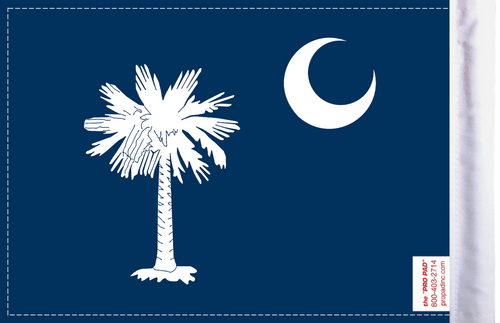 FLG-SC  South Carolina flag 6x9 (BACK)