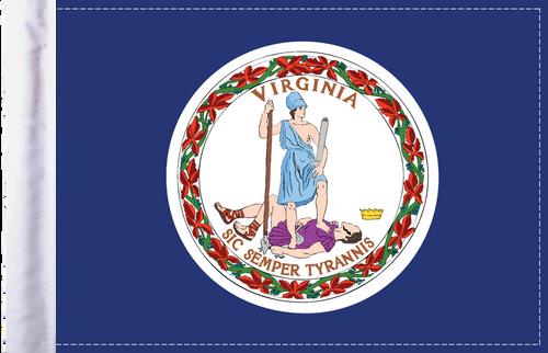 FLG-VA  Virginia Flag 6x9
