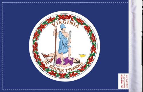 FLG-VA  Virginia Flag 6x9 (BACK)