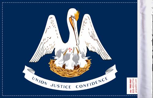 FLG-LA  Louisiana Flag 6x9 (BACK)