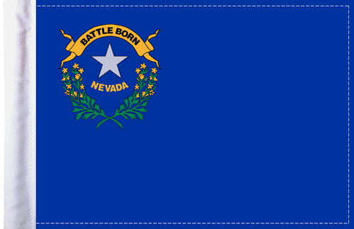 FLG-NV  Nevada Flag 6x9