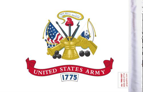 FLG-ARM  U.S. Army 6x9 flag (BACK)