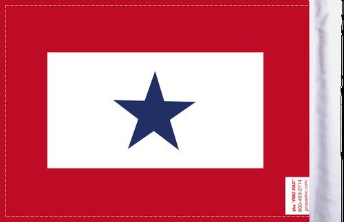 FLG-BS  Blue Star Service 6x9 flag (BACK)