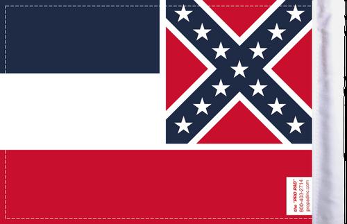 FLG-MS  Mississippi Flag 6x9 (BACK)