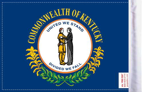 FLG-KY  Kentucky Flag 6x9 (BACK)