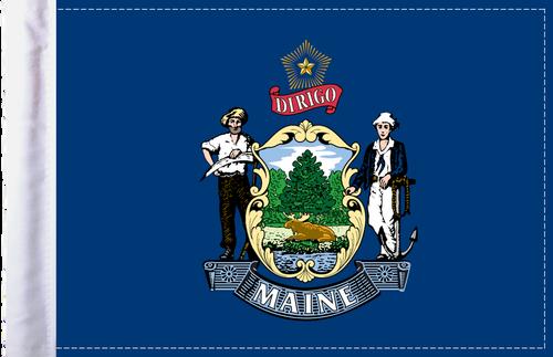 FLG-ME  Maine Flag 6x9