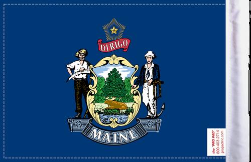 FLG-ME  Maine Flag 6x9 (BACK)