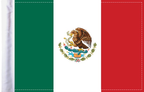 FLG-MEX Mexico 6x9 flag