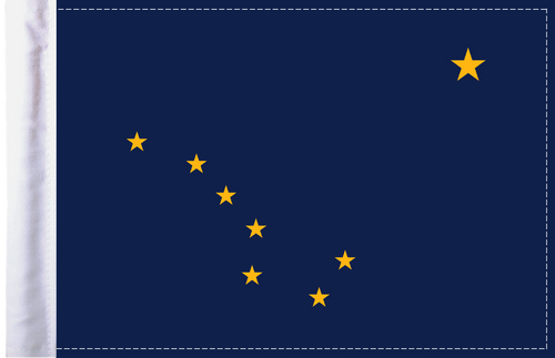 FLG-AK Alaska Flag 6x9